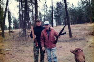 2 men hunting