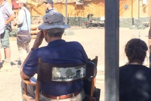 Clint Eastwood directing American Sniper