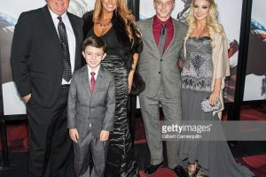 Scott McEwen and family at American Sniper Premiere