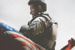Movie poster for American Sniper